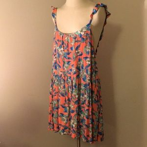 NWT backless floral Free People dress